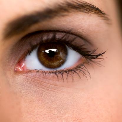 چشمان هیز زنانه